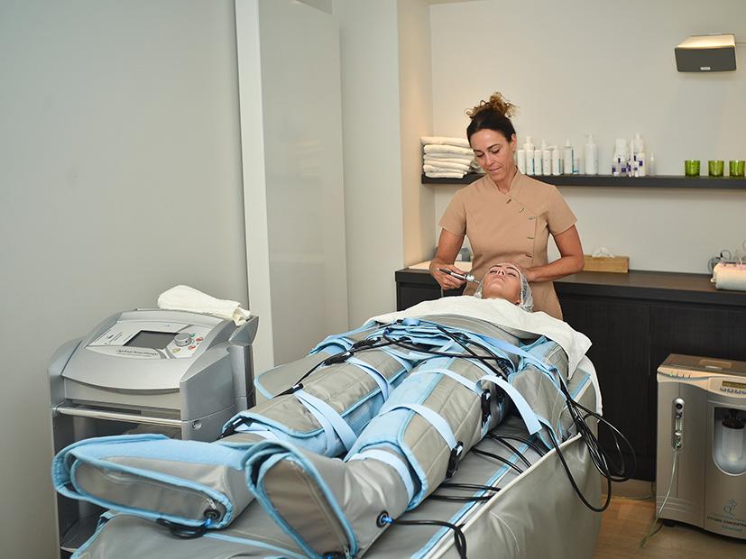Pressotherapie - Lymfedrainage